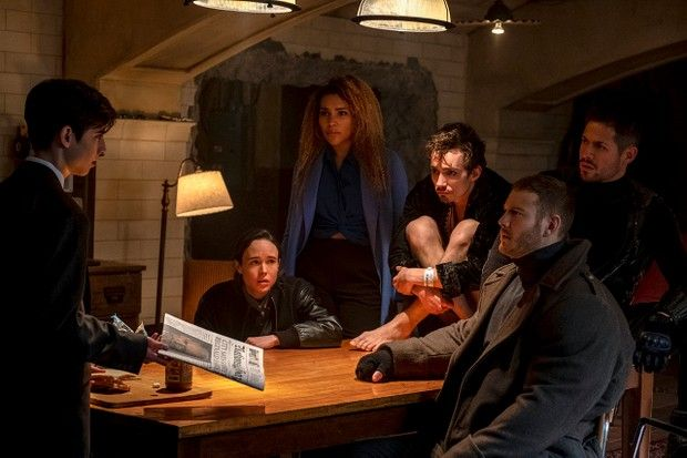 Image may contain: The Umbrella Academy season 2, The Umbrella Academy, series, new, second, Netflix, cast, trailer, release date, Table Lamp, Lamp, Furniture, Housing, Building, Indoors, Person, Human