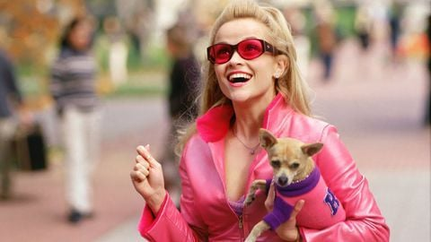 Image may contain: best hangover films on Netflix, Netflix, UK, US, films, movies, hangover, Legally Blonde, Elle Woods,  Teen, Blonde, Kid, Child, Girl, Woman, Apparel, Clothing, Female, Human, Person, Accessory, Accessories, Sunglasses