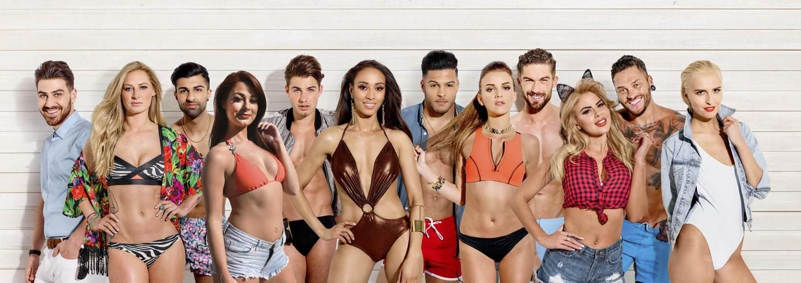 Image may contain: Love Island most shocking moments, Love Island, best bits, highlights, most controversial, series 1, season one, 2015, Underwear, Woman, Female, Swimwear, Bikini, Human, Person, Apparel, Clothing