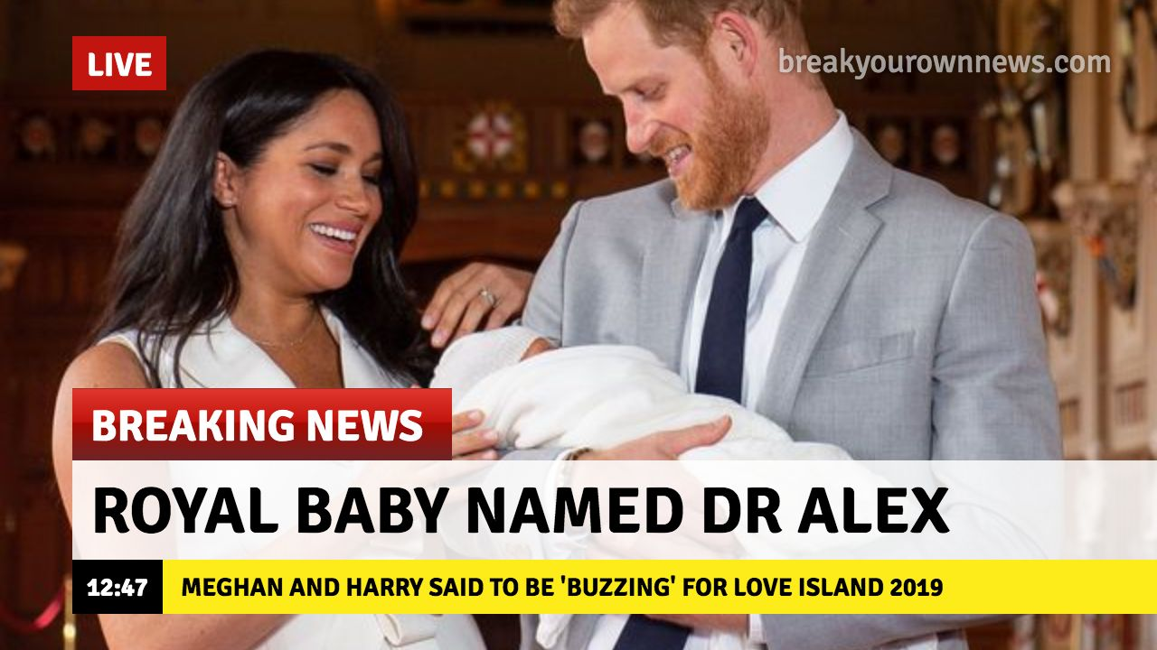 Image may contain: Royal baby memes, royal baby, meme, Meghan Markle, Prince Harry, archie memes, Archie Harrison Mountbatten Windsor, Danny Baker, tweet, reaction, name, chimp, fired, BBC, Female, Family, Hug, People, Dating, Accessory, Tie, Accessories, Face, Human, Person