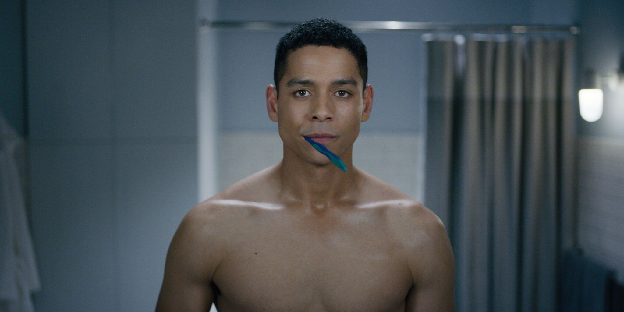 Image may contain: You season 2 cast, You, Netflix, cast, season 2, Charlie Barnett, Gabe,  Finger, Face, Head, Person, Human