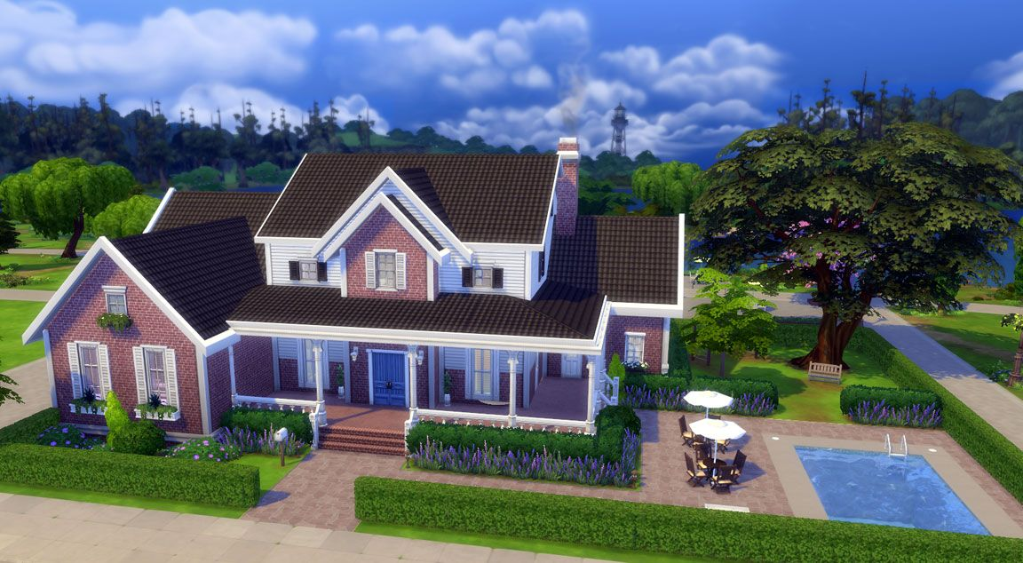 Image may contain: Get Sims 4 for free, Sims 4, origin store, download, free, EA, origin,Nature, Villa, Outdoors, Cottage, House, Mansion, Roof, Neighborhood, Urban, Housing, Building, Plant, Grass