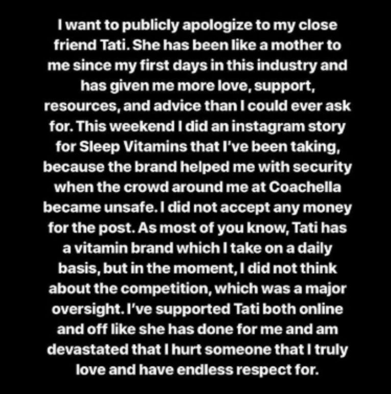 Image may contain: James Charles and Tati Westbrook, James Charles, Tati Westbrook, YouTube,Page, Letter, Menu, Word, Text