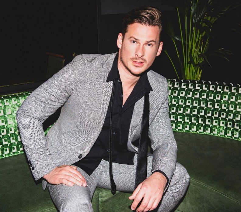 Image may contain: Celebs Go Dating cast, Celebs Go Dating, 2019, Lee Ryan, start date, how to apply, apply, form, E4, Pants, Man, Sweater, Sleeve, Apparel, Clothing, Human, Person