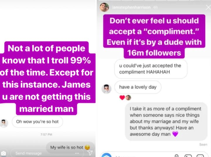 Image may contain: James Charles screenshots, James Charles, DM, messages, update, twitter, direct message, texts, leaked, Stephen Harrison, tati, Paper, Poster, Advertisement, Brochure, Flyer, Text Message, Text