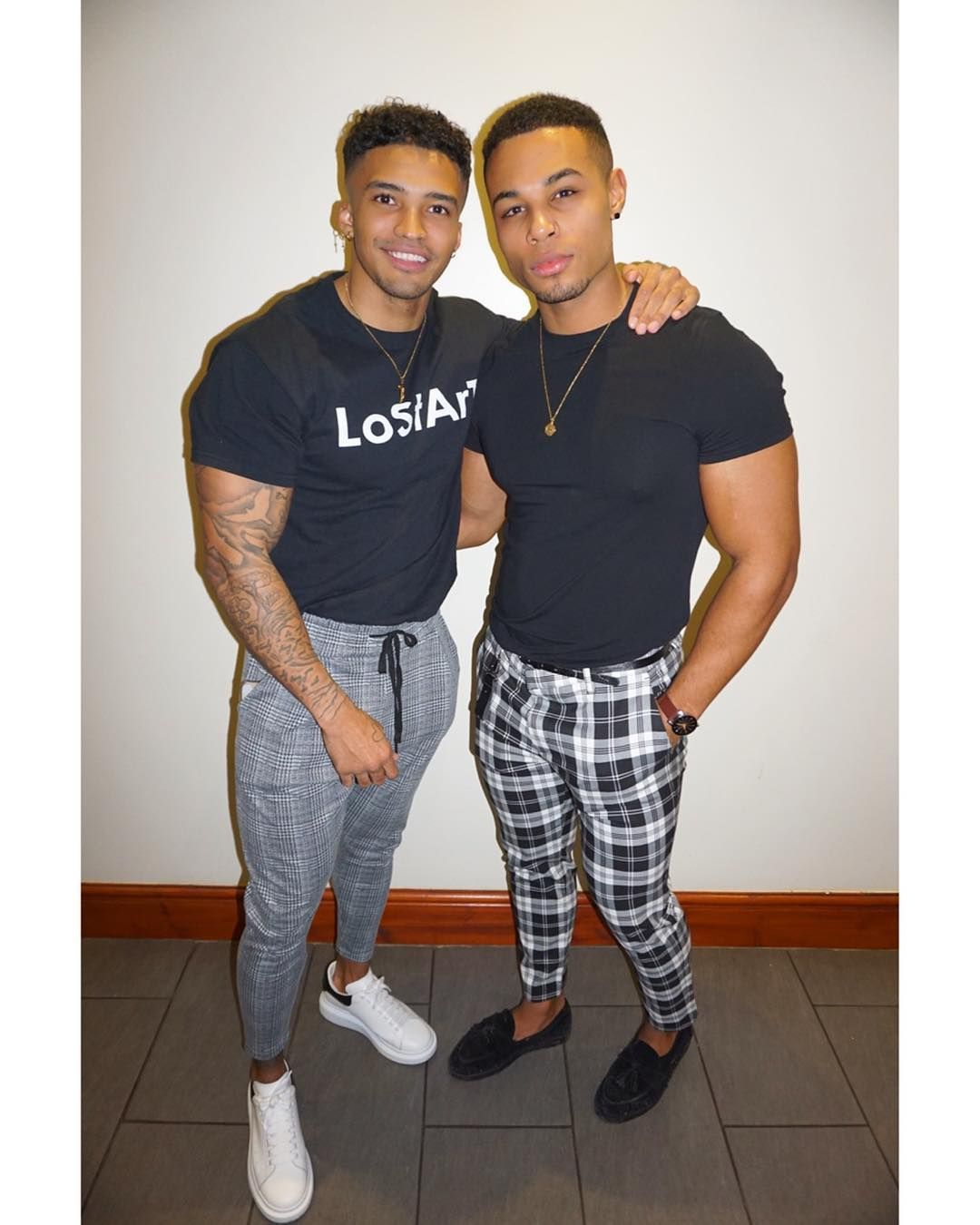 Image may contain: Love Island 2019 Instagrams, Love Island, Michael Griffiths, 2019, Callum, Ibiza Weekender, cast, followers, social media, line up, Running Shoe, Man, Pants, Human, Person, Footwear, Shoe, Apparel, Clothing
