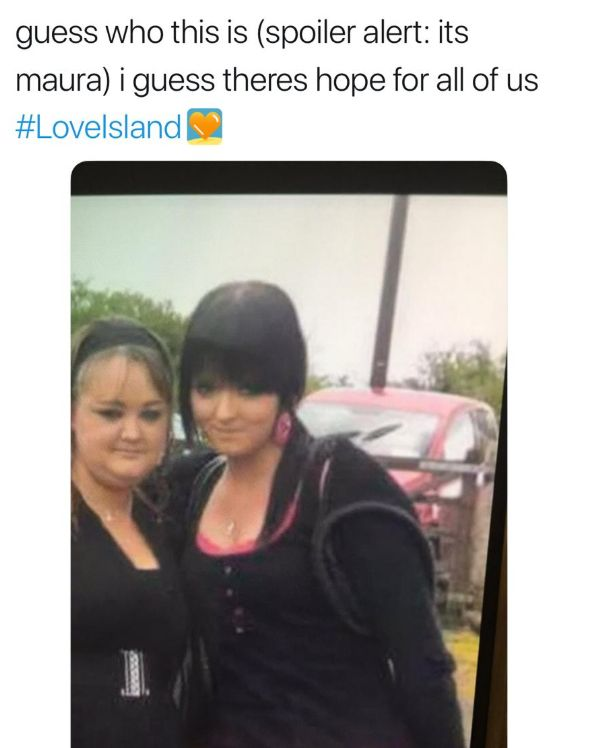 Image may contain: Maura old pictures, Maura Higgins, Love Island, surgery, plastic, cosmetic, lip fillers, before, after, old, contestant, Islander, cast, Apparel, Clothing, Hair, Text, Human, Person