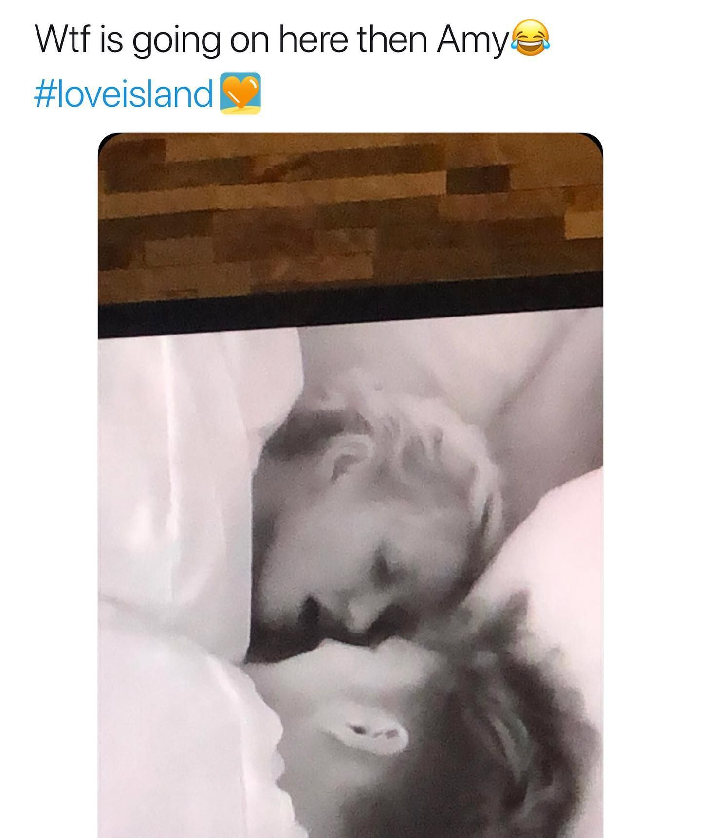 Image may contain: Love Island savage tweets, Love Island, memes, tweets, savage, online buzz, Art, Asleep, Sleeping, Human, Person, Diaper