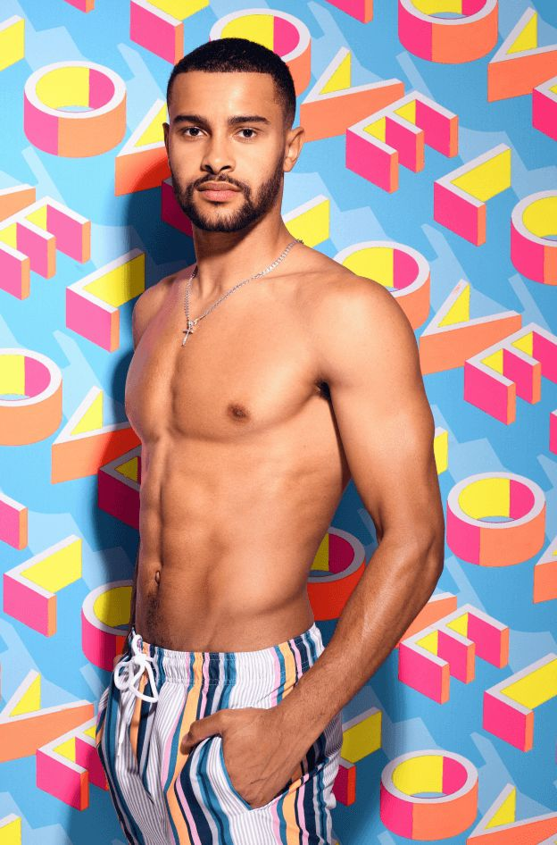 Image may contain: Casa Amor cast, Casa Amor, Love Island, Dennon Lewis, contestant, cast, Islander, new, boy, Instagram, age, job, Clothing, Underwear, Apparel, Face, Man, Human, Person