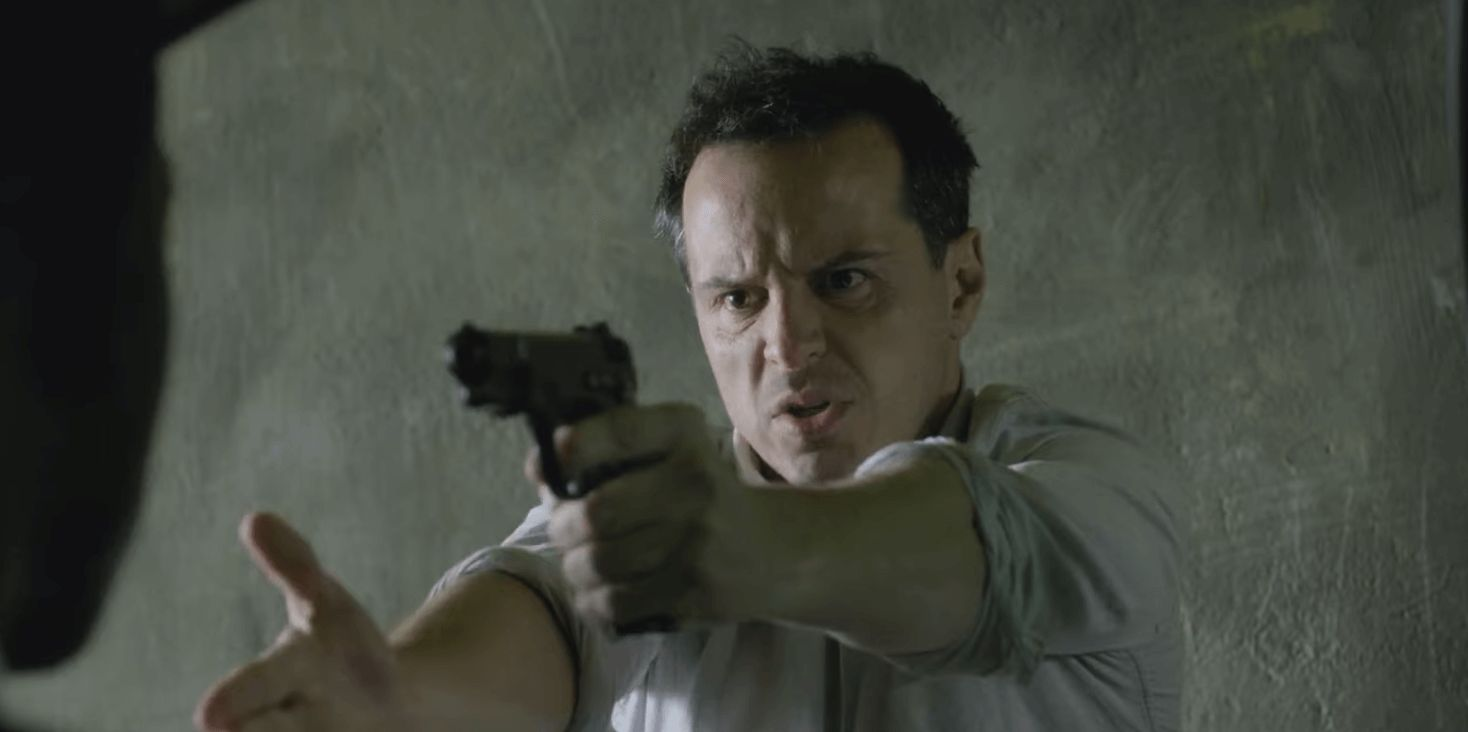 Image may contain: Smithereens ending explained, Black Mirror, smithereens, Chris Gillhaney, Andrew Scott, season 5, episode 2, conclusion, ending, what happened, who died, spoilers, easter eggs, died, death, answers, explainer, cliffhanger, Handgun, Gun, Weaponry, Weapon, Person, Human