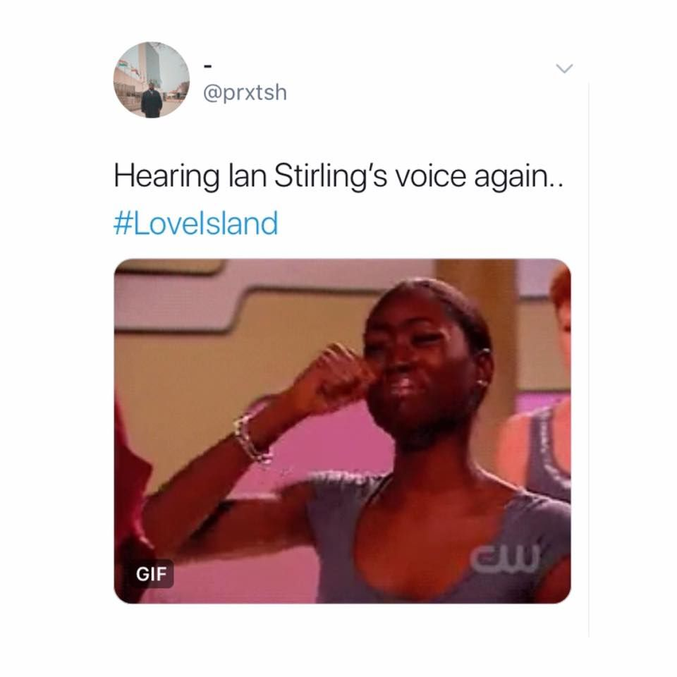 Image may contain: Love Island episode one memes, Love Island, 2019, memes, reactions, tweets, Iain Stirling, episode one, meme, funny, Head, Text, Face, Human, Person