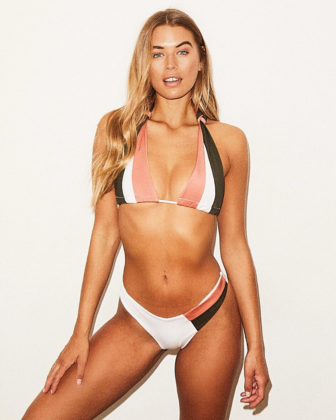 Image may contain: Arabella Love Island, Arabella, Love Island, Arabella Chi, new girl, new arrival, villa, Instagram, age, Human, Person, Bikini, Swimwear, Clothing, Apparel