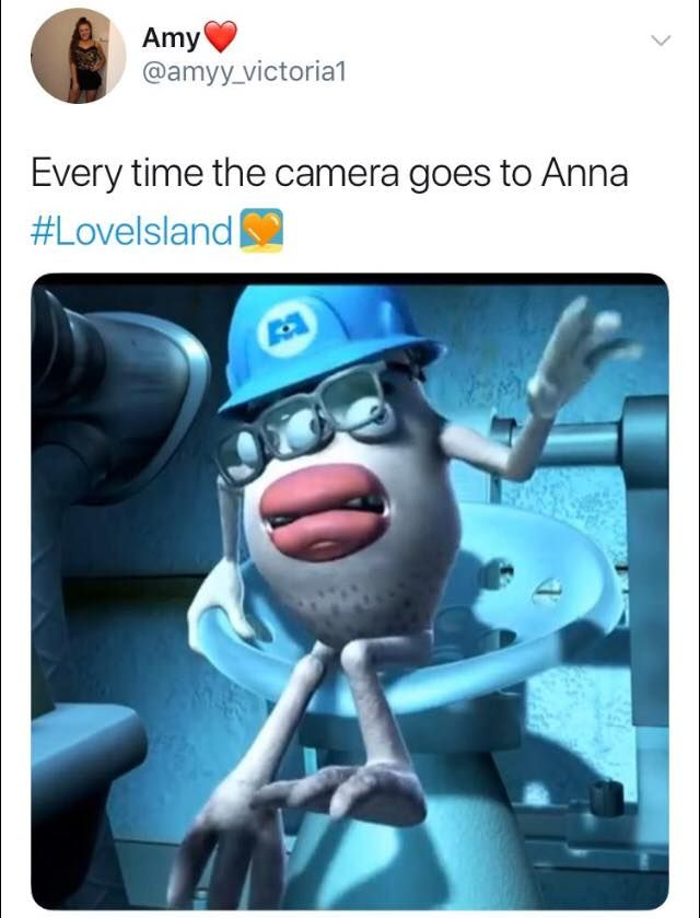 Image may contain: Love Island episode one memes, Anna Vakili, Love Island, 2019, meme, Human, Person