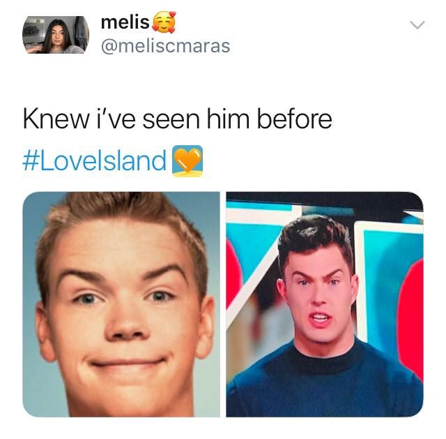Image may contain: Love Island savage tweets, Love Island, memes, tweets, savage, online buzz, Curtis, Jaw, Poster, Advertisement, Id Cards, Document, Text, Head, Person, Human, Face