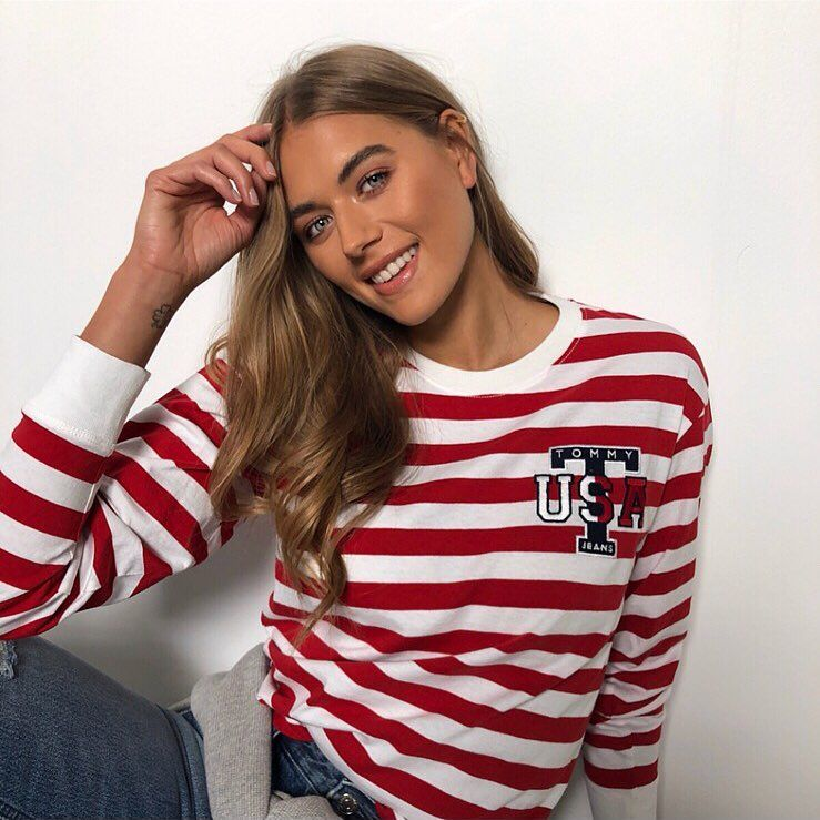 Image may contain: Arabella Love Island, Arabella Chi, Love Island, new, girl, late, arrival, villa, Instagram, age, job, London, Long Sleeve, Face, Teen, Blonde, Woman, Girl, Child, Kid, Female, Human, Person, Sleeve, Clothing, Apparel