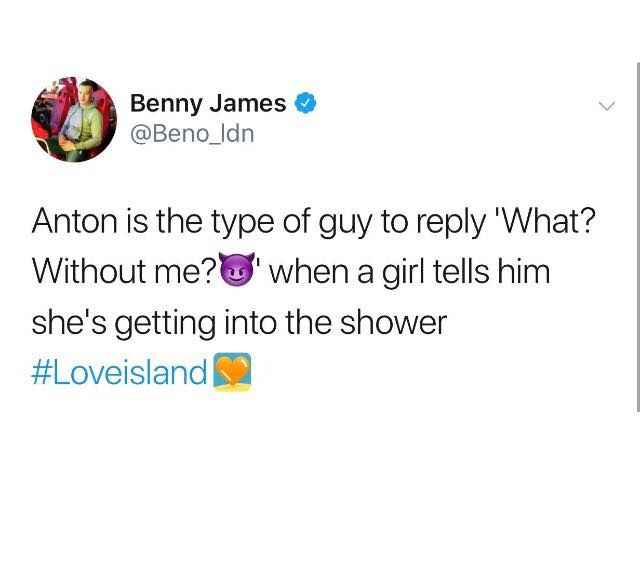 Image may contain: Love Island episode one memes, Love Island, Anton, meme, 2019, funny, People, Person, Ball, Football, Soccer, Team Sport, Team, Sports, Soccer Ball, Human, Sport, Text