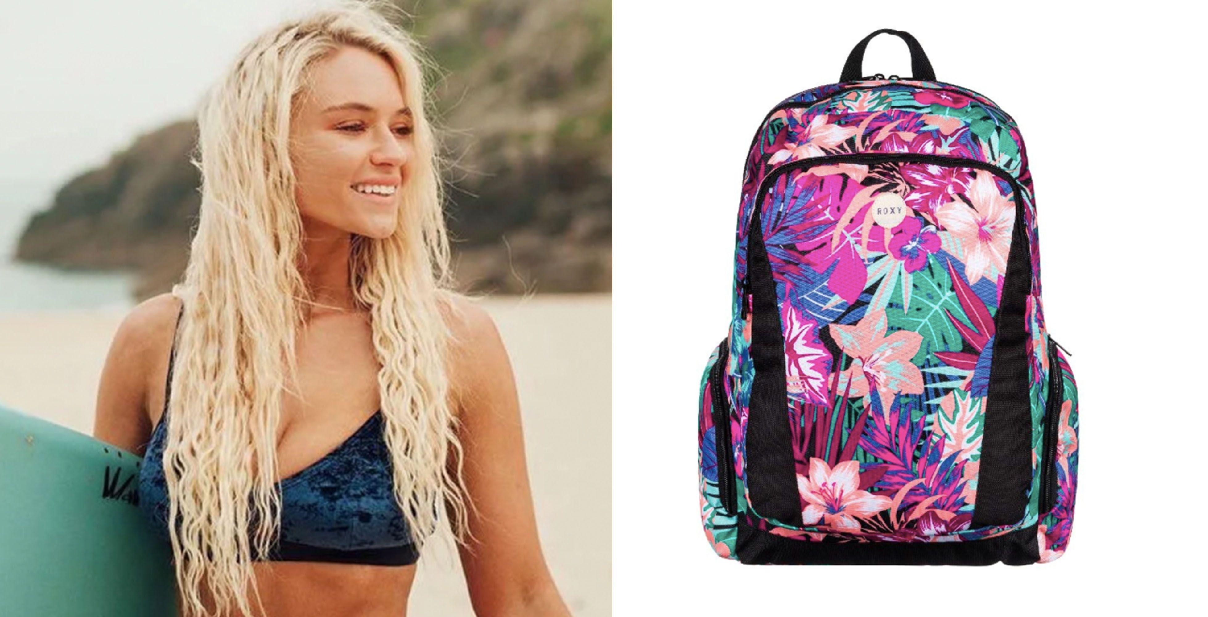 Image may contain: Person, Human, Bag, Backpack