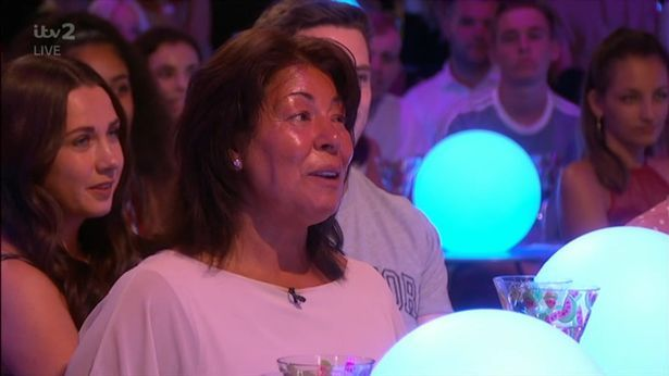 Image may contain: Love Island parents, Love Island, mum, dad, Anton, Sherie-Ann Danyluk, Aftersun, Alcohol, Pub, Bar Counter, Leisure Activities, Beverage, Drink, Club, Party, Person, Human