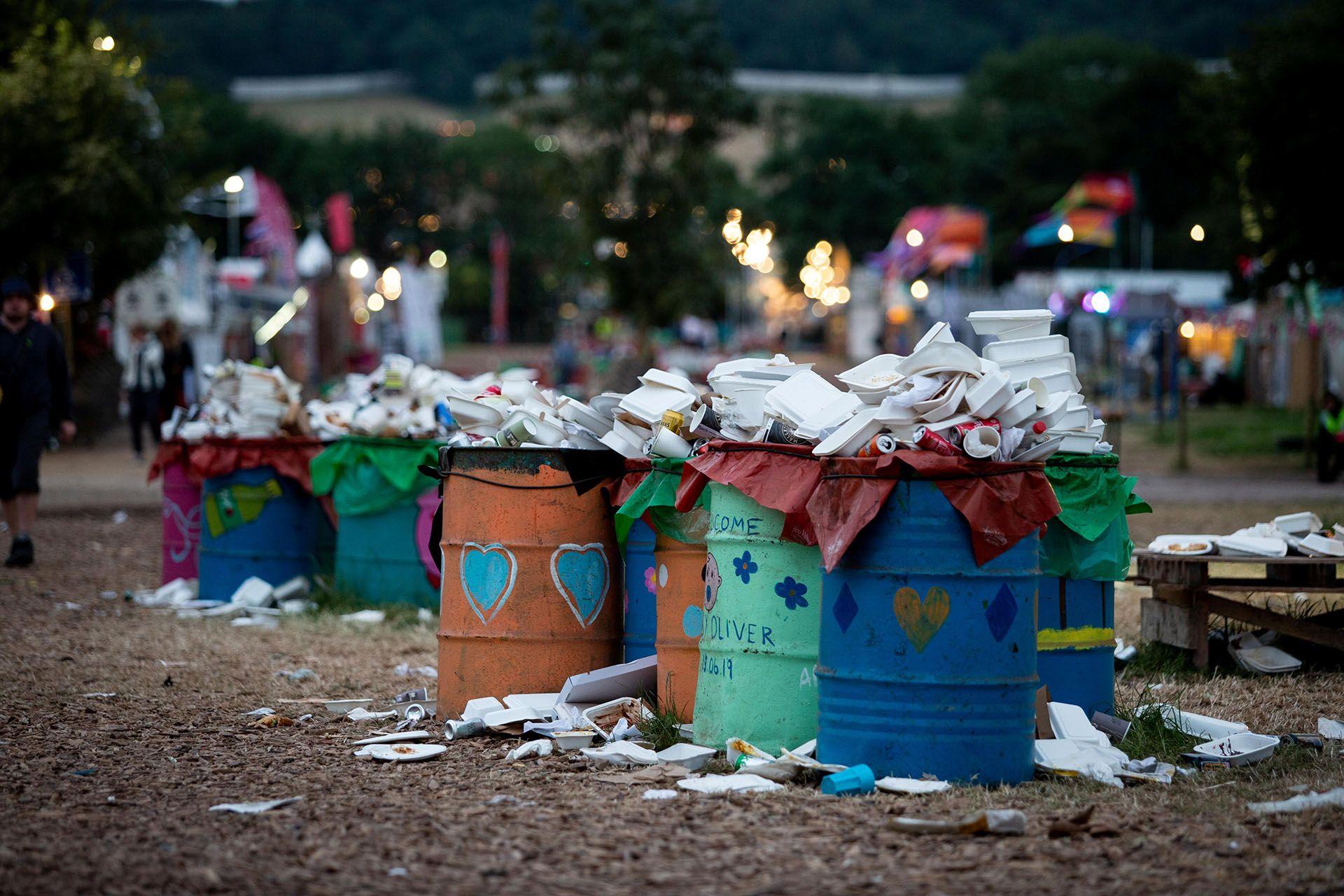Image may contain: Can, Tin, Trash, Human, Person