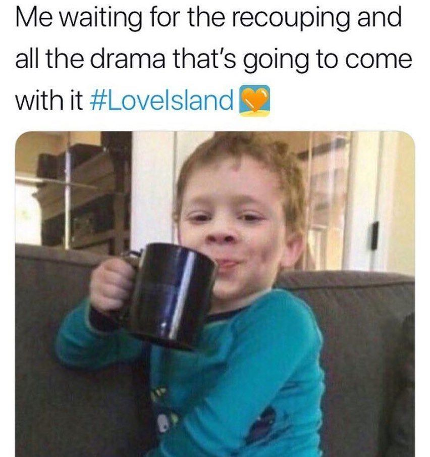 Image may contain: Casa Amor Love Island memes, Love Island, Casa Amor, meme, reaction, tweet, funny, savage, best, Twitter, Drinking, Drink, Beverage, Mobile Phone, Cell Phone, Phone, Electronics, Cup, Coffee Cup, Person, Human