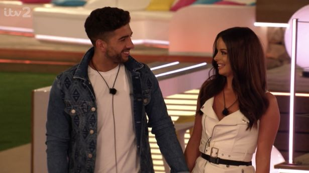 Image may contain: Love Island recoupling, Love Island, who left, last night, dumped, new, couples, Marvin, Maura, Face, Blazer, Coat, Jacket, Man, Clothing, Apparel, Dating, Human, Person