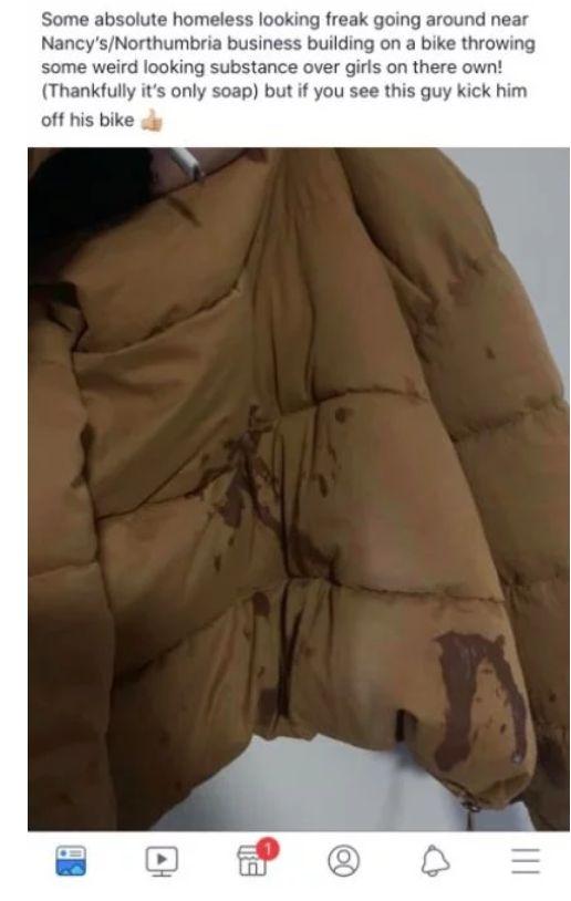 Image may contain: Human, Person, Jacket, Coat, Apparel, Clothing