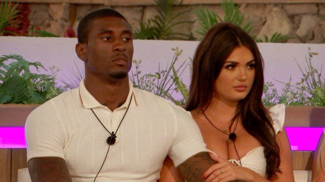 Image may contain: Ovie Soko net worth, Ovie Soko, Love Island, salary, worth, Ovie, India Reynolds, basketball, team, 2019, how much, earnings, Human, Person, Pendant
