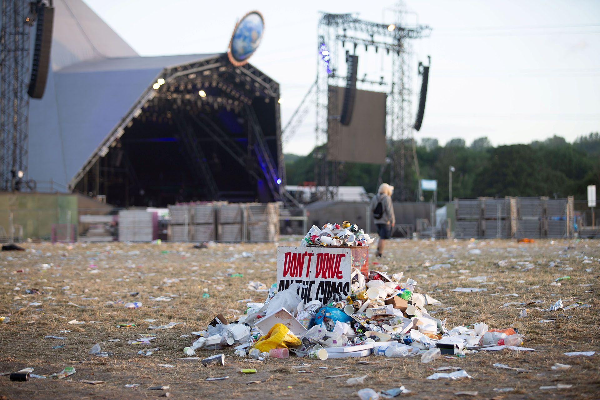 Image may contain: Human, Person, Trash