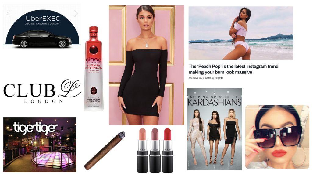 Image may contain: Lipstick, Cosmetics, Accessories, Sunglasses, Accessory, Human, Person