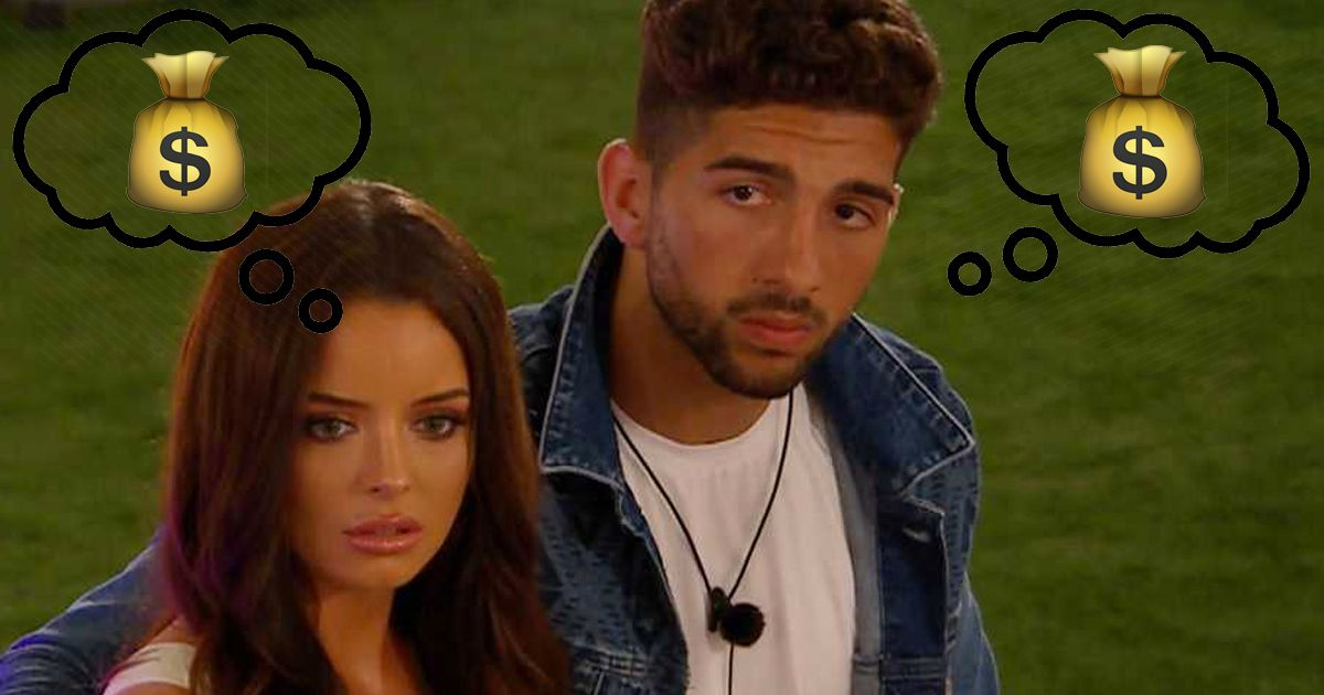 Image may contain: Love Island prize money, Love Island, final, Maura, Marvin, prize, fund, jackpot, split, steal, love, money, final date, last, episode, Man, People, Face, Human, Person