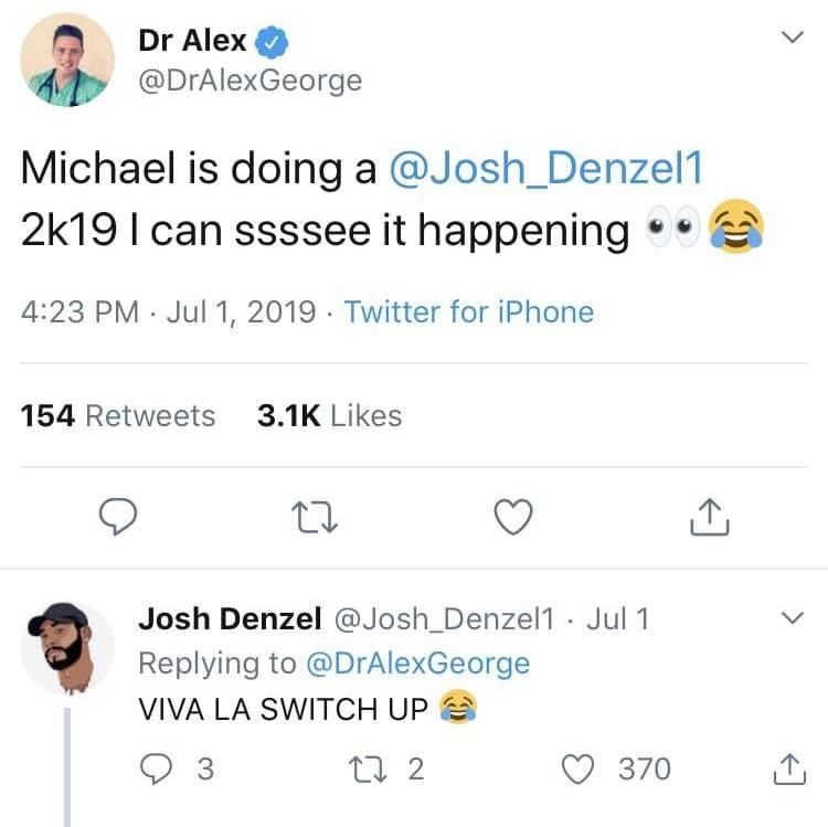 Image may contain:  Love Island recoupling memes, Love Island, memes, tweets, reactions, savage, twitter, Dr Alex, Josh Denzel, Page, Symbol, Number, Document, Driving License, License, Person, Human, Text
