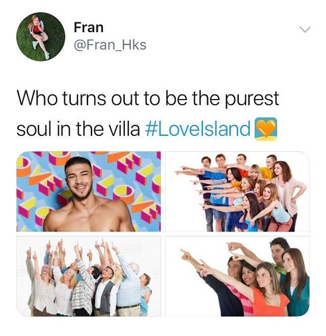 Image may contain: Casa Amor Love Island memes, Love Island, Casa Amor, meme, reaction, tweet, Tommy, Tommy Fury, funny, savage, best, Twitter, People, Advertisement, Human, Person