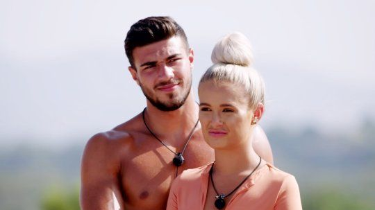 Image may contain: Love Island, Tommy, Lucie, Molly-Mae, gossip, news, latest, preview, sneak peek, first look, Person, Human, Pendant