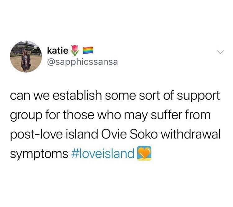 Image may contain: Love Island final memes, Love Island, final, 2019, meme, reaction, twitter, funny, best, Ovie Soko, Person, Human, Text