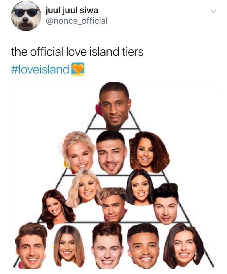 Image may contain: Love Island Chris memes, Love Island, memes, reactions, Chris Taylor, Twitter, reactions, latest, news, gossip, funny, dumped, Islander, left, ranking, tier, meme, Photo Booth, Face, Sport, Soccer, Football, Team Sport, Soccer Ball, Team, Sports, Ball, People, Advertisement, Collage, Poster, Head, Person, Human
