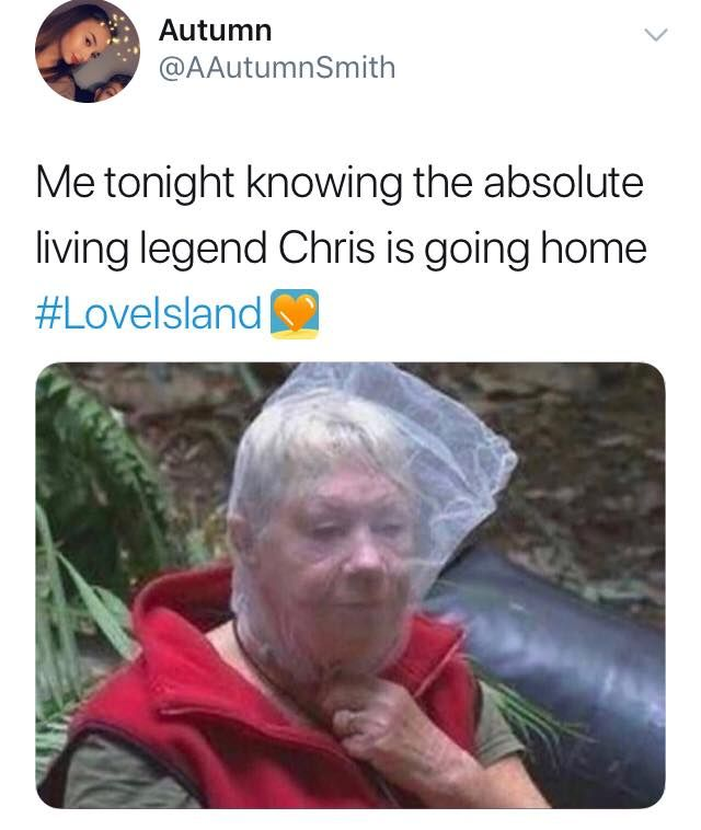 Image may contain: Love Island Chris memes, Love Island, memes, reactions, Chris Taylor, Twitter, reactions, latest, news, gossip, funny, dumped, Islander, left, Raincoat, Human, Person, Coat, Clothing, Apparel