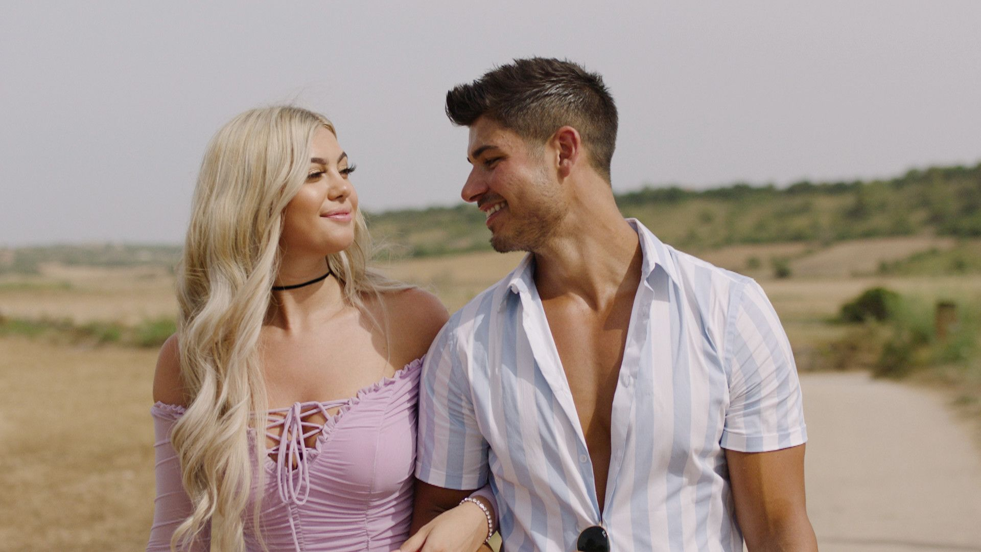 Image may contain: Love Island prize money, Love Island, final, Belle, Anton, split, steal, love, money, last episode, winnings, prize, odds,  Shirt, Girl, Kid, Blonde, Woman, Teen, Child, Female, Robe, Evening Dress, Fashion, Gown, Clothing, Apparel, Human, Person