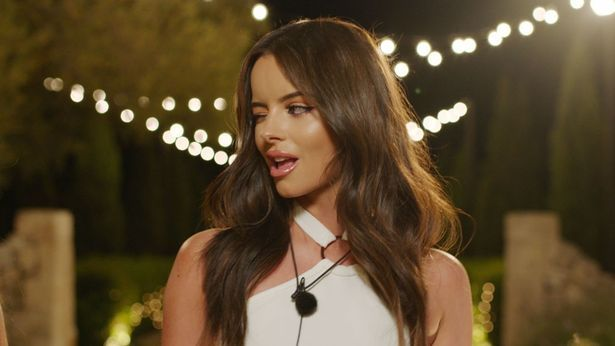 Image may contain: Love Island most shocking moments, Love Island, best bits, highlights, most controversial, 2019, series five, maura, Female, Face, Pendant, Person, Human