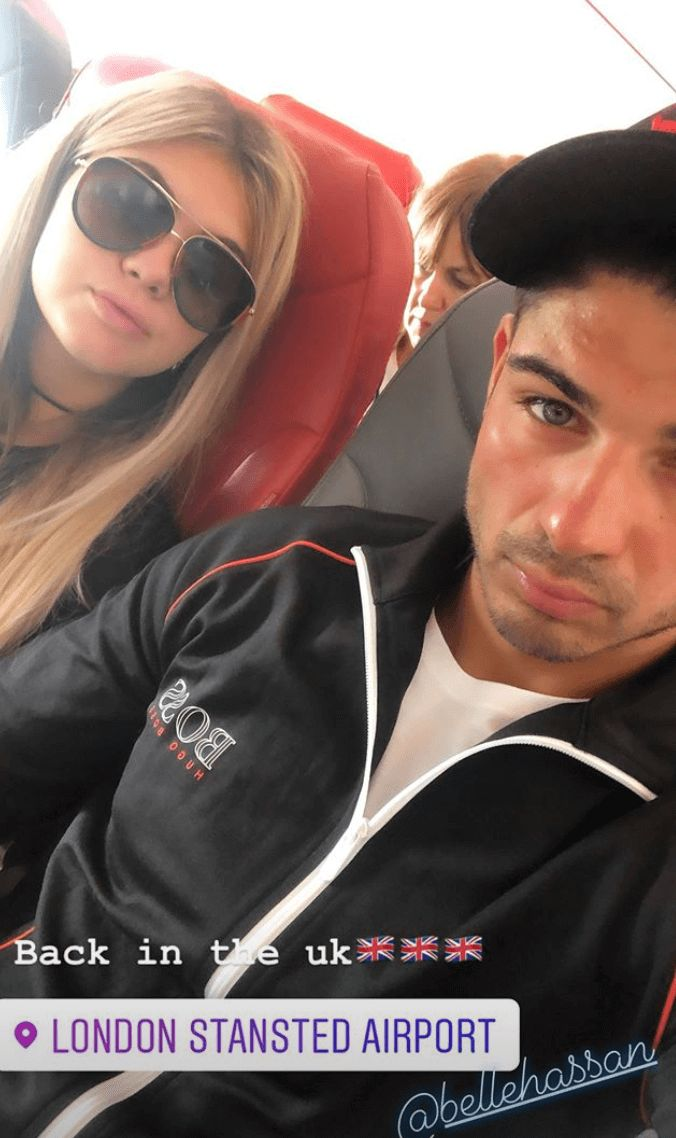 Image may contain: Anton cheating video, Anton Danyluk, Belle Hassan, Love Island, 2019, Instagram, holiday, cheating, video, leaked, club, kissing, girl, online, night out, WhatsApp, snog, Headrest, Selfie, Glasses, Photo, Portrait, Photography, Pillow, Person, Human, Face, Accessory, Accessories, Sunglasses, Cushion