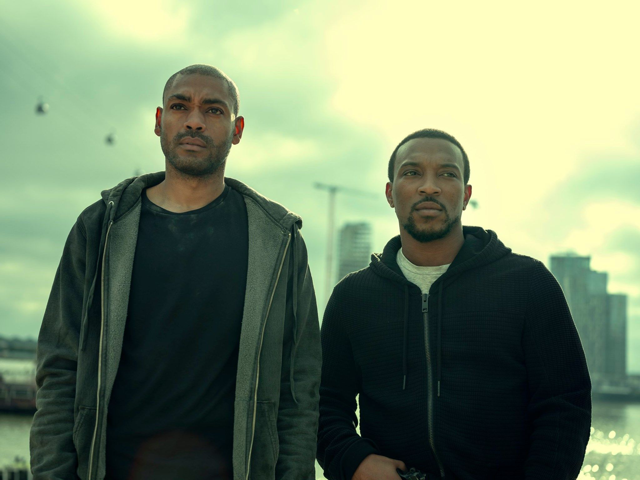 Image may contain: Top Boy, Top Boy season 3, new series, series three, Netflix, Drake, London, new, drama, cast, trailer, release date, Jacket, Coat, Clothing, Apparel, Man, Human, Person