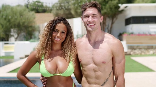 Image may contain: Love Island voting figures, Love Island, final, 2019, vote, figures, result, poll, statistics, winning, percentage, how much, runner up, votes, cast, Molly Mae, Tommy, Greg, Amber, Ovie, India, Curtis, Maura, winners, Man, Underwear, Swimwear, Woman, Dating, Face, Clothing, Apparel, Female, Human, Person