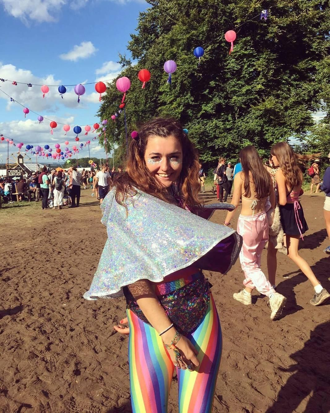 Image may contain: Is Boomtown Fair 2019 cancelled, Boomtown, 2019, cancelled, still going ahead, weather, warnings, on, location, date, latest, news, People, Outdoors, Vacation, Leisure Activities, Shoe, Footwear, Shorts, Female, Apparel, Clothing, Crowd, Festival, Human, Person