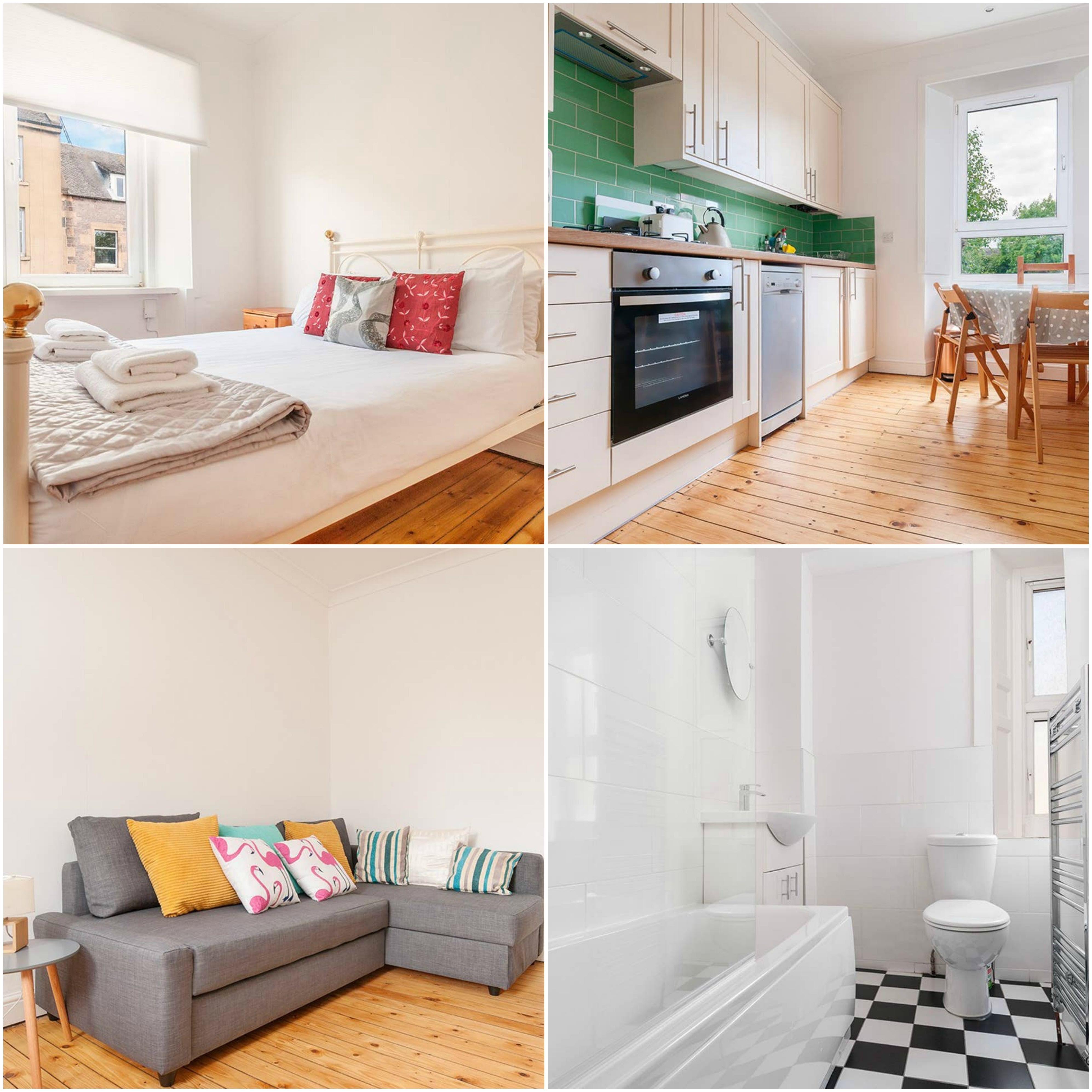 Image may contain: Rug, Bedroom, Hardwood, Furniture, Floor, Wood, Flooring, Room, Indoors, Interior Design