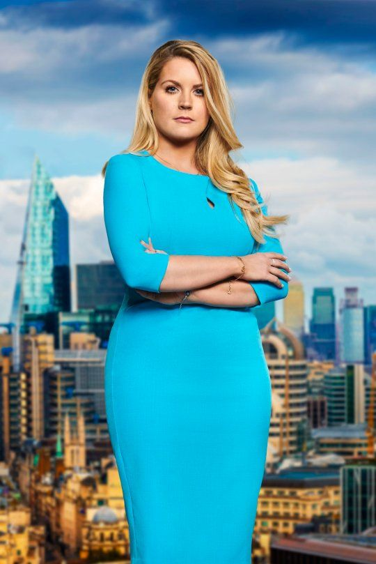 Image may contain: The Apprentice candidates 2019, The Apprentice, 2019, new, series, cast, hopefuls, candidates, lineup, contestants, Sir Alan Sugar, BBC, Pamela Laird, Apartment Building, Woman, Smile, Face, Female, Person, Human, Dress, Clothing, Apparel, Metropolis, High Rise, Town, Building, Urban, City