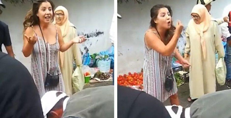 British tourist calls Moroccan street seller a 'dumb c