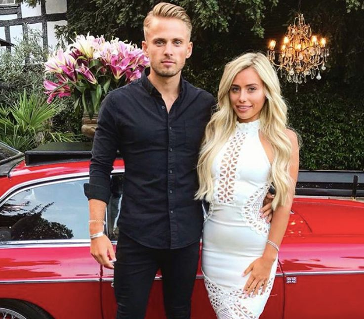 Image may contain: Ellie Brown and Charlie Brake reunion, Ellie Brown, Charlie Brake, Love Island, 2018, Ex on the Beach, series 11, cast, 2019, reunion, together, on screen, date, Fashion, Plant, Transportation, Car, Vehicle, Automobile, Human, Person