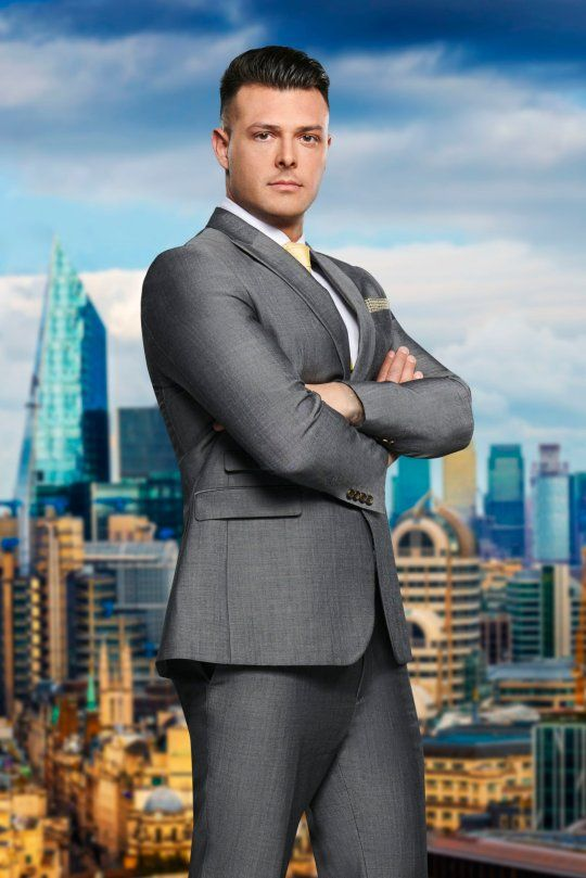 Image may contain: The Apprentice candidates 2019, The Apprentice, 2019, new, series, cast, hopefuls, candidates, lineup, contestants, Sir Alan Sugar, BBC, Lewis Ellis, Female, Architecture, Office Building, Metropolis, Man, Jacket, Blazer, Human, Person, Building, City, Town, High Rise, Urban, Suit, Overcoat, Coat, Apparel, Clothing