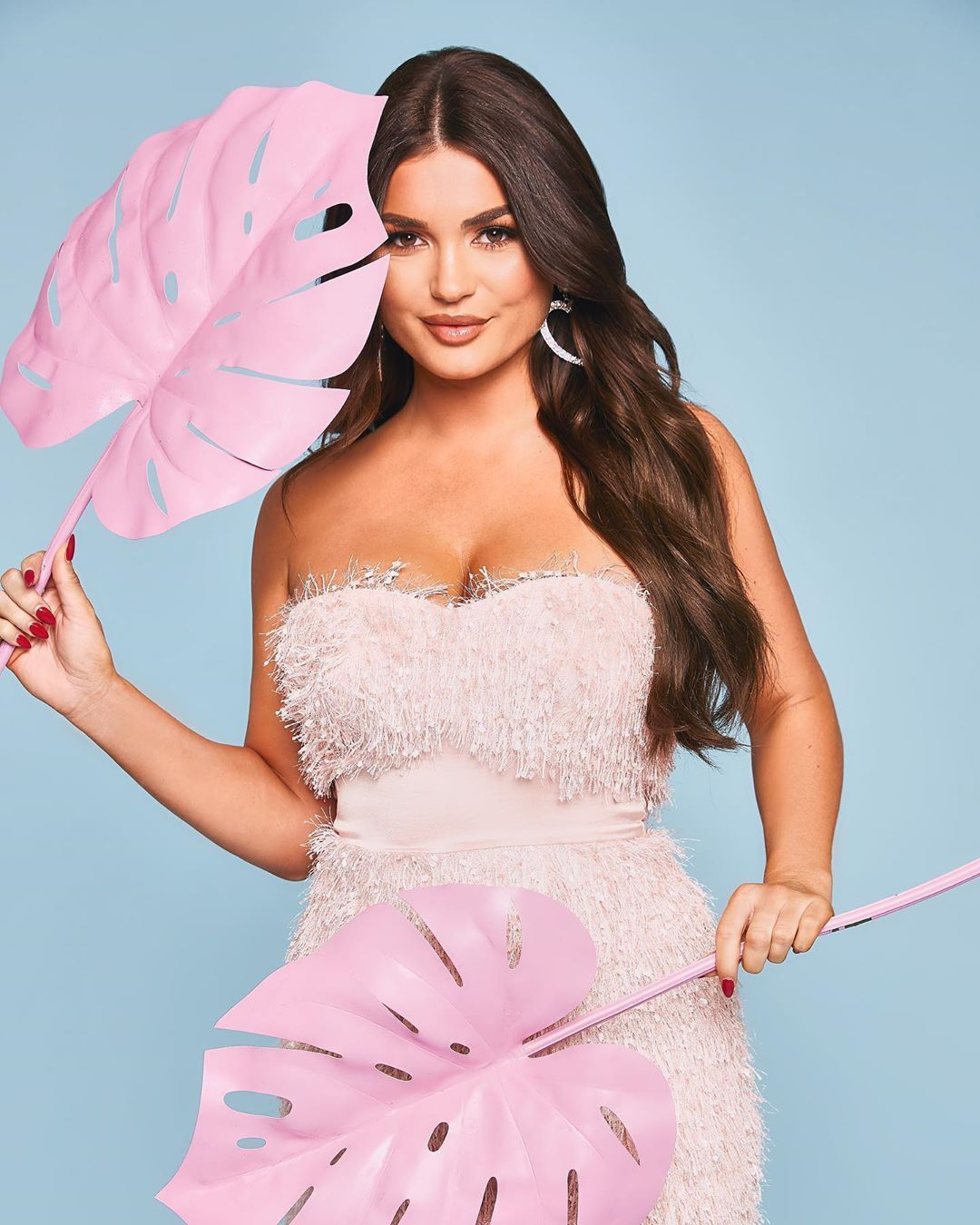 Image may contain: Love Island sponsorship deals, Love Island, India Reynolds, money, boohoo, clothing, brand, fashion, range, pay, deal, contract, shoot, Female, Dress, Evening Dress, Robe, Gown, Fashion, Person, Human, Pillow, Cushion, Clothing, Apparel