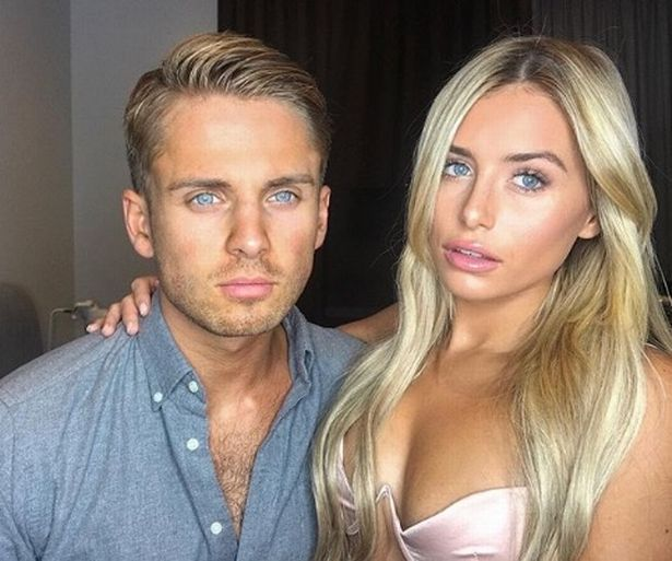 Image may contain: Ellie Brown and Charlie Brake reunion, Ellie Brown, Charlie Brake, Love Island, 2018, Ex on the Beach, series 11, cast, 2019, reunion, together, on screen, date, Female, Portrait, Photography, Photo, Dating, Clothing, Apparel, Face, Human, Person