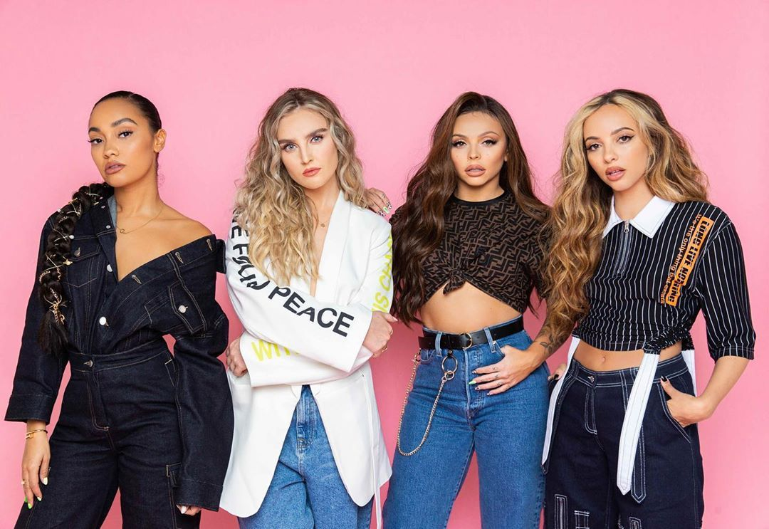 Image may contain: reality TV rich list, UK, reality TV, net worth, earnings, money, salary, rich, worth, Little Mix, Leigh-Anne Pinnock, Perrie Edwards, Jesy Nelson, Jade Thirlwall, X Factor, Girl, Fashion, Jeans, Denim, Female, Clothing, Pants, Apparel, Person, Human